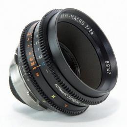 LENTE OBJETIVA ARRI MACRO 24mm