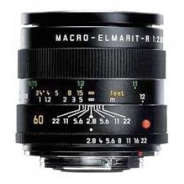 LENTE OBJETIVA LEICA R CINEMOD MACRO 60mm BOCAL EF